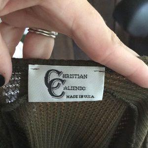 Christian Caliendo Tops - Asymmetrical Hem Top